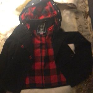 Pink Victoria s secret hooded jacket